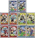 Nouvelle-zélande 1758-1767 (complète.Edition.) 1999 Rugby (Timbres pour Les collectionneurs) Jeux de Ballon sans Football