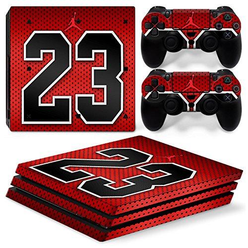 Sony PS4 Playstation 4 Pro Skin Design Foils Aufkleber Schutzfolie Set - Magic 23 Motiv