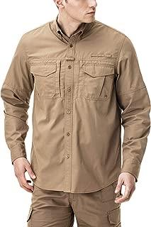 CQR Men's Outdoor PFG UPF 50+ Long-Sleeve Breathable Shirt