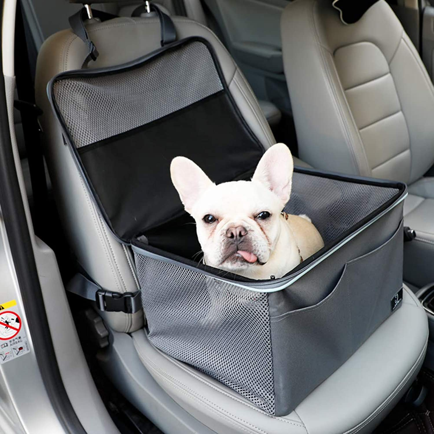 GX&XD Heavy duty Pet front seat cover,Dog car seat cover With zipper and pocket Antidirty Pet back seat covers Car seat pet predector Predect your carA