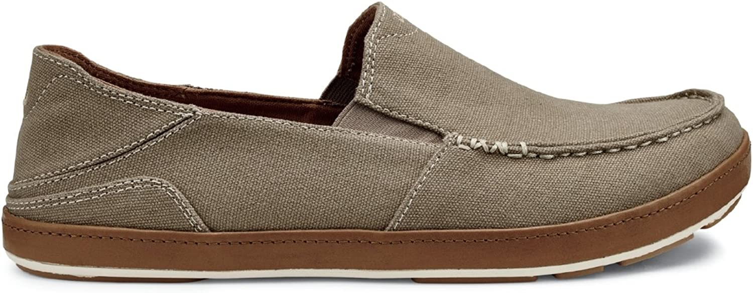 OLUKAI Men's Puhalu Canvas Loafer