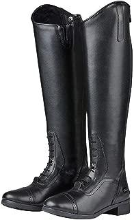 Saxon Womens/Ladies Syntovia Tall Field Boots (8.5 US Wide Short) (Black)