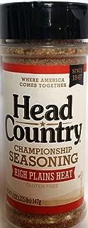 Head Country Championship Seasoning, High Plains Heat 5.2 Oz (Pack of 3)