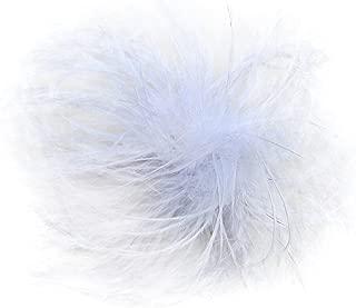 Ostrich Feather Puff Princess Dress-Up Hair Bow Clip