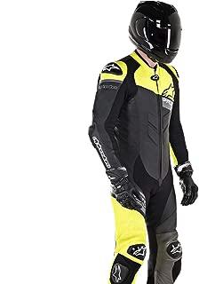 Alpinestars GP Plus One-Piece Leather Suit - Venom (58) (Black/Yellow/Grey)