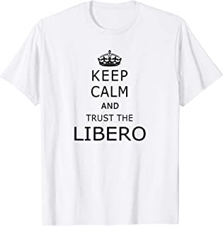 Keep Calm Libero Shirt Funny Volleyball Shirts With Sayings