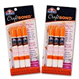 Elmers Craft Bond Glue Pen Value Pack -- Set of 6 Glue Pens (Presicion Tip, Clear, 2.12 Oz Total)