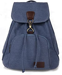 Fashion Canvas Multifunctional Durable ToteTravel Backpack Purse One Size