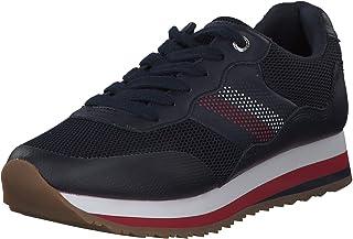 Tommy Hilfiger Kadın Tommy Corporate Retro Sneaker Spor Ayakkabı
