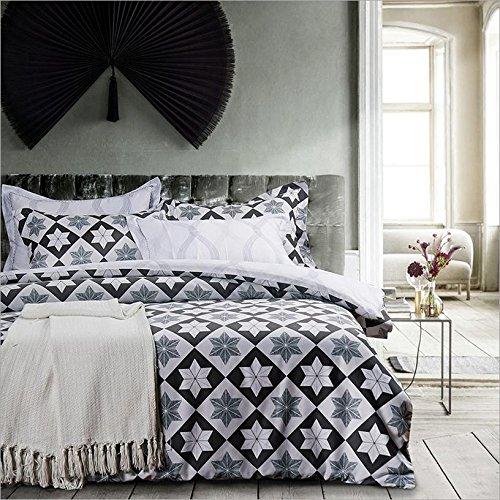 Xie (textile rembourré de luxe Parure de lit 4 pièces Ensemble 220*240cm F