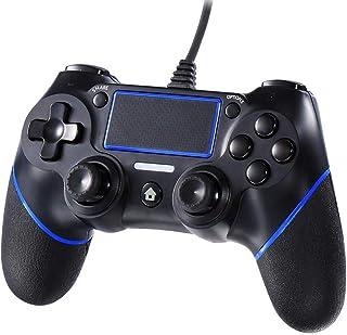 Xingmeng PS4 コントローラー PC USB ゲームパッド 有線ゲームパッド PS3 PC PS4対応