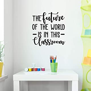 Vinyl Wall Art Decal - The Future of The World is in This Classroom - 30