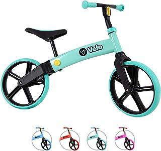 Yvolution Y Velo Senior balanscykel för barn | Inga pedaler träningscykel i åldrarna 3 till 5 år (mynta)