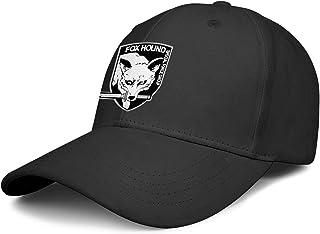 Unisex Baseball Hat,Cap,Hats,Caps} All Cotton Casual Hats for Men Women Foxhound-Metal-Gear-Solid- Sports Cap
