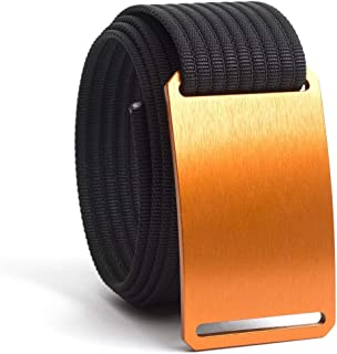 GRIP6 Belts for Men & Women- Nylon Belt- Fully Adjustable Web Belt & Belt Buckle