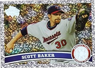 2011 Topps Diamond Anniversary #354 Scott Baker Minnesota Twins MLB Baseball Card NM-MT