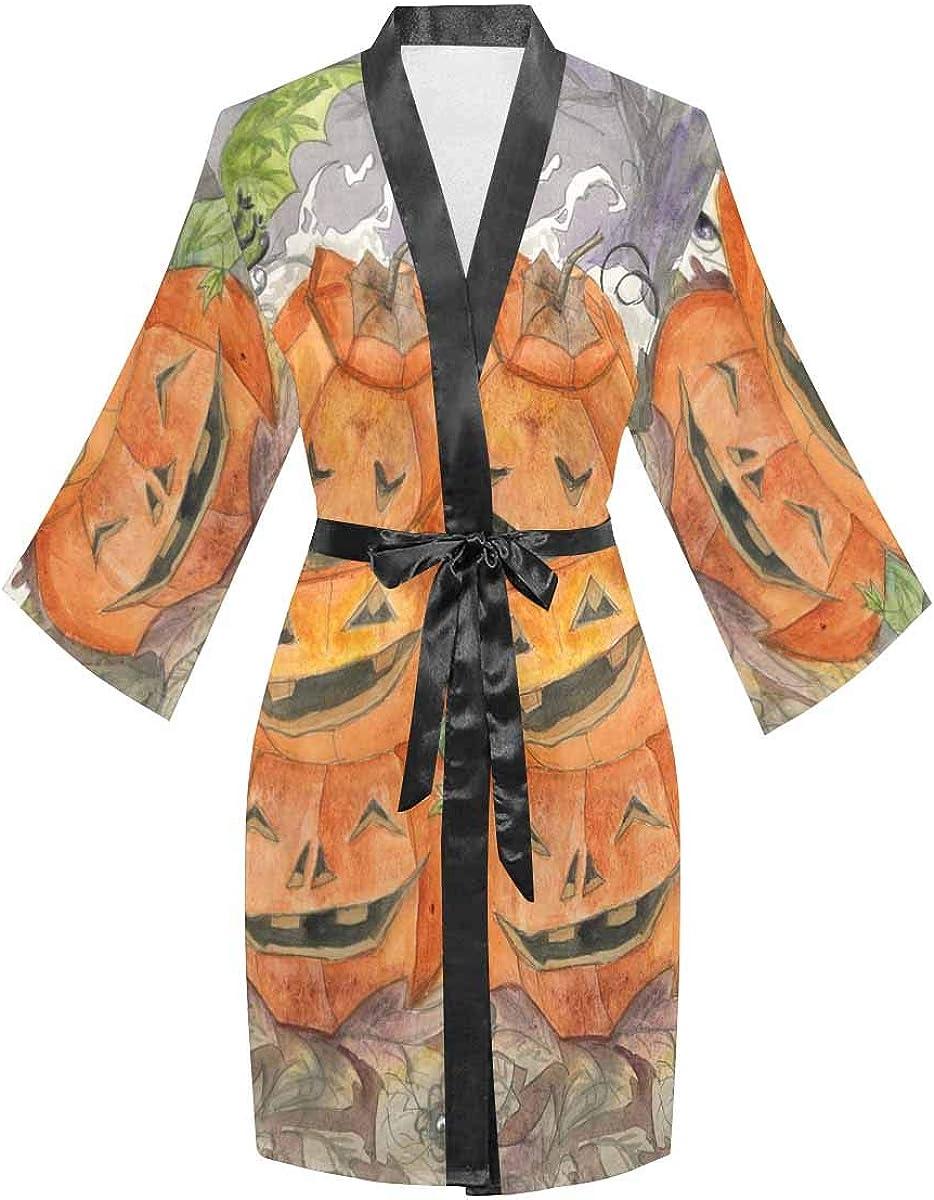 InterestPrint Women's Long Sleeve Lightweight Ranking TOP7 Robe Ranking TOP3 Kimono Bathro