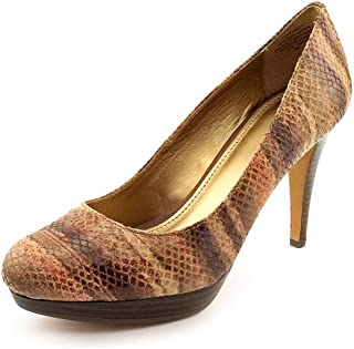 Pearly Womens Size 6-11 Brown Pumps Heels Shoes (7.5)