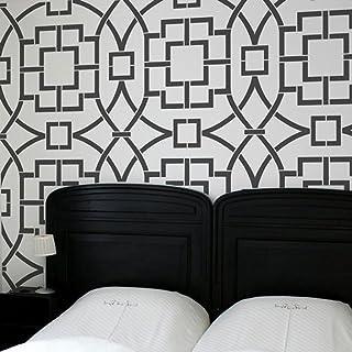 Stencil Decor Pre-Cut Decorator Wall Stencil3 Designs In 1New N
