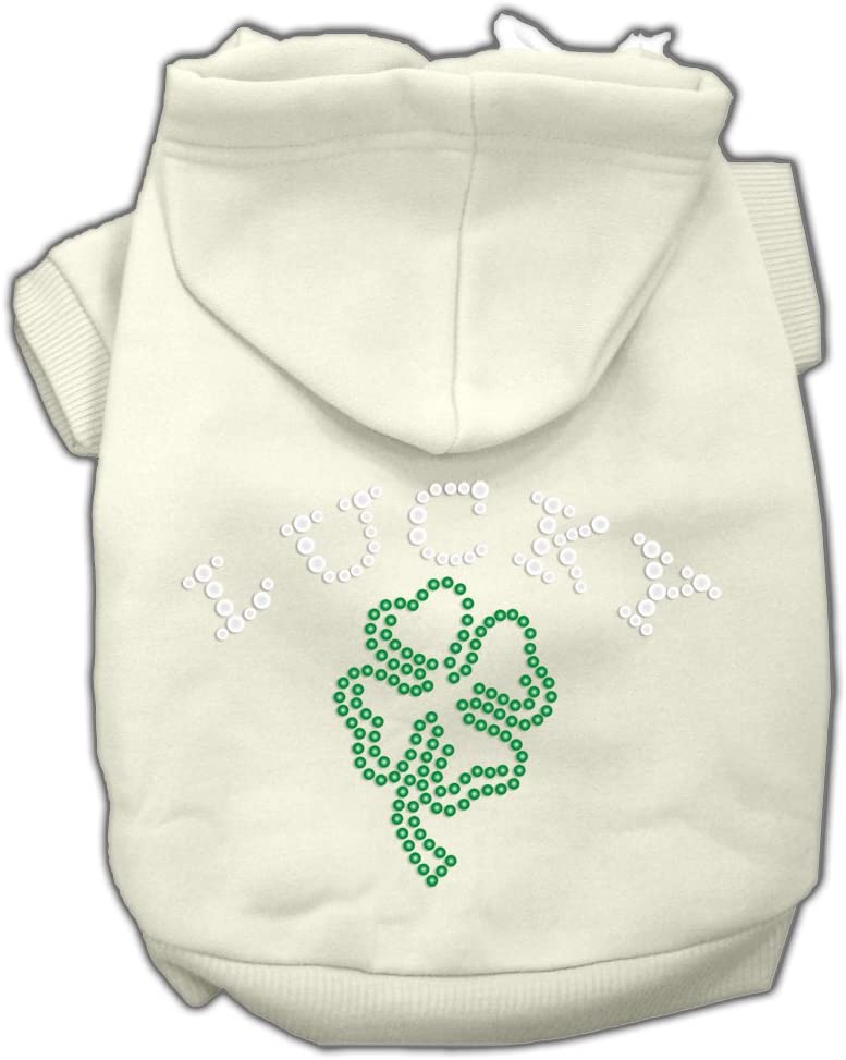 Mirage Pet Products 20-Inch New Indianapolis Mall sales Four 3X Clover Hoodies Outline Leaf