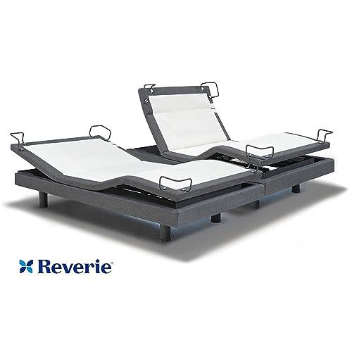 reverie DynastyMattress 8Q-Series Adjustable Bed Base - Wireless - Bluetooth - Massage-Under