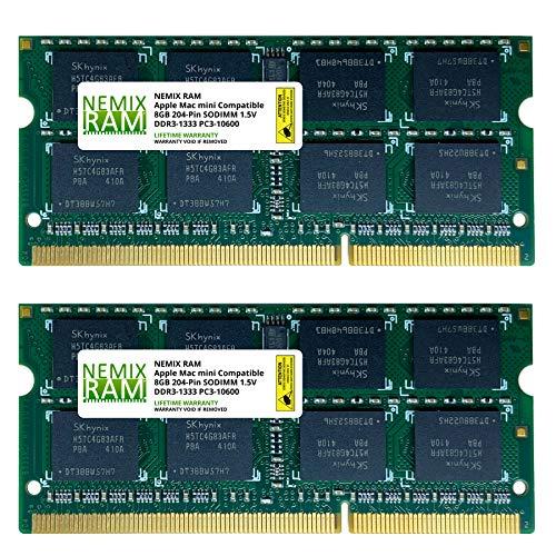 16GB 2X8GB NEMIX RAM Memory for Apple Mac Mini 2011