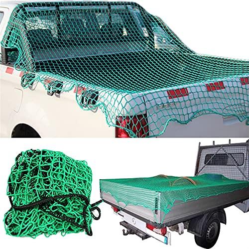 FPZ Fpzhong Malla de Carga Neta Fuerte Pesado cargamento camión camión tráiler contemporádas Extender Malla Cubiertas Techo Equipaje Redes (Size : 3.7x1.5M)