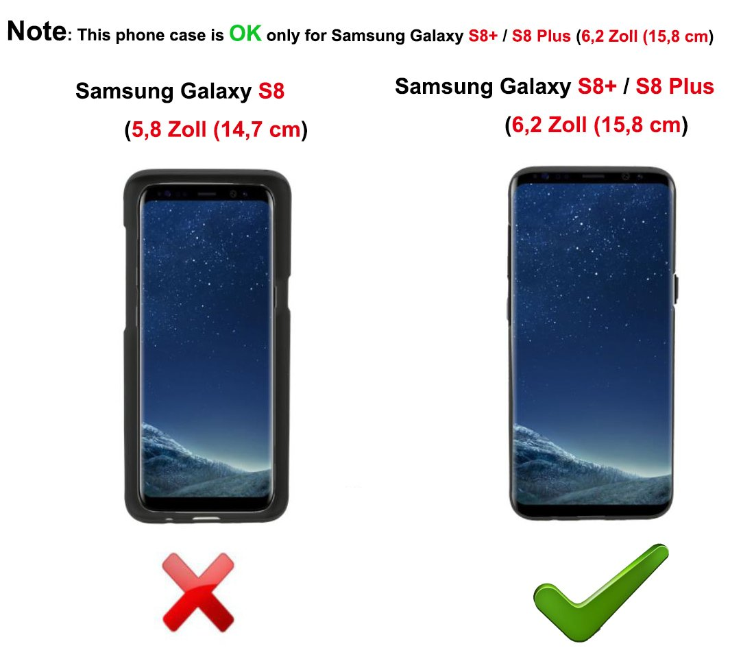 EIISSION Compatible with Samsung Galaxy S8 Plus (6.2