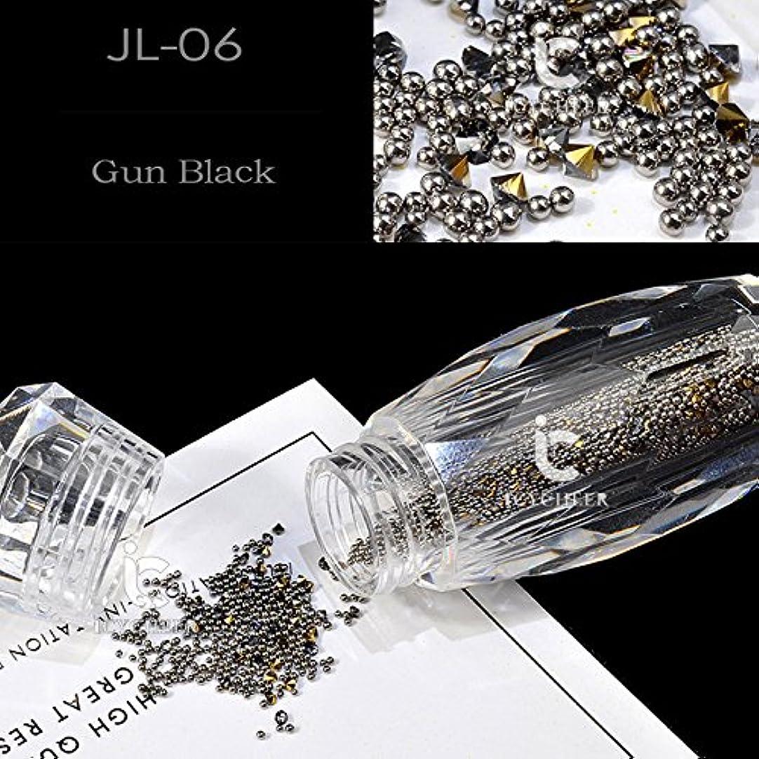 ジャム感染する提供するICYCHEERネイルグリッターABクリスタルガラスマイクロネイルアート眩しいキャビアビーズ3Dピクシーマーメイドネイルのヒントマニキュアデコレーション (JL06)