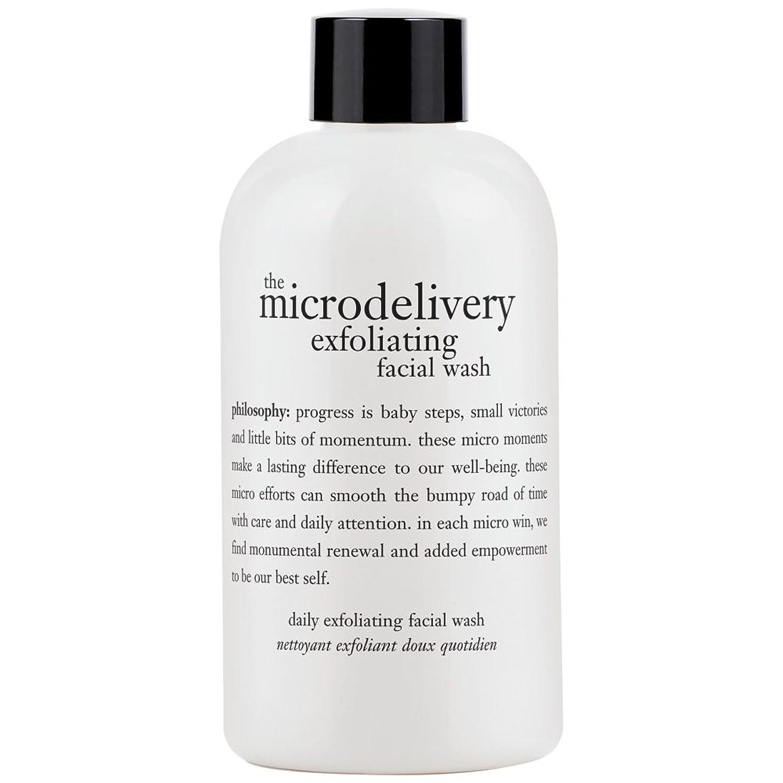 葉を拾う酸素花弁哲学洗浄を剥離ミクロ送達、240ミリリットル (Philosophy) (x6) - Philosophy The Microdelivery Exfoliating Wash, 240ml (Pack of 6) [並行輸入品]