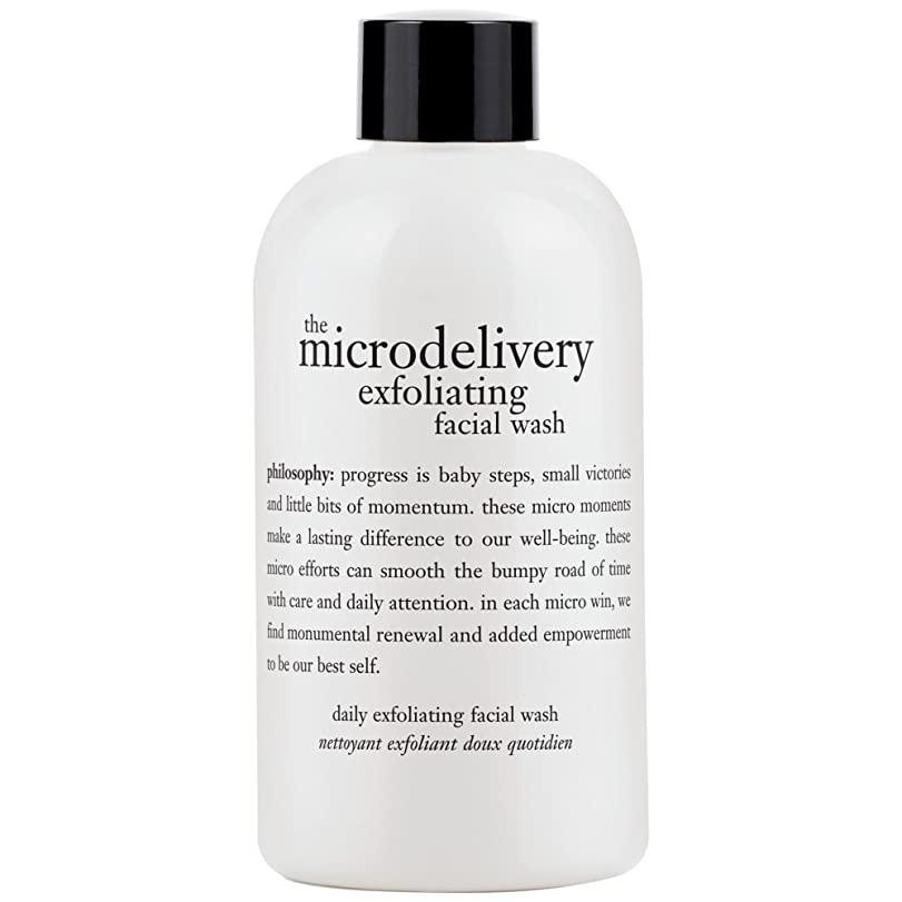 詳細に過敏な織機哲学洗浄を剥離ミクロ送達、240ミリリットル (Philosophy) (x2) - Philosophy The Microdelivery Exfoliating Wash, 240ml (Pack of 2) [並行輸入品]