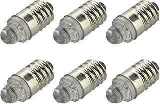 Lampada votiva per candelabri 12V 6W attacco E10