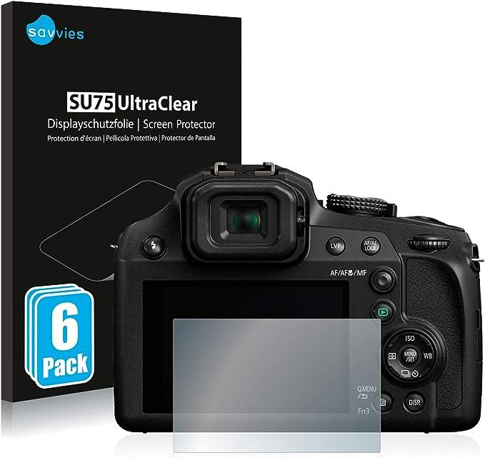 Savvies 6x Schutzfolie Kompatibel Mit Panasonic Lumix Elektronik