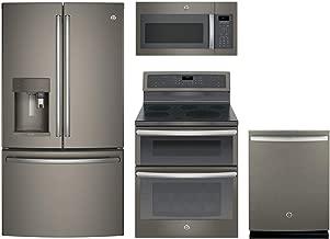 GE Profile 4-Pcs Kitchen Package with PYE22PMKES 36