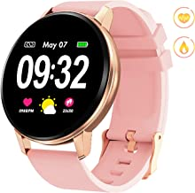 GOKOO Smart Watch for Women with Activity Fitness Tracker Waterproof Smartwatch with..
