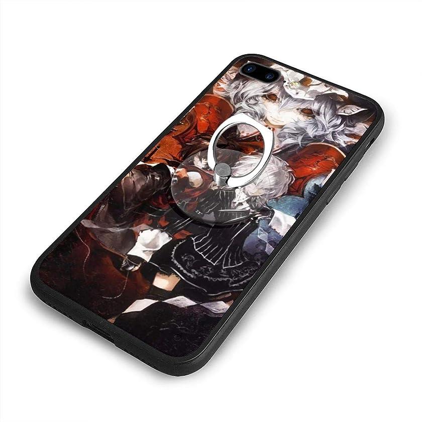 叱る泥だらけブラスト東方ProjectプロジェクトiPhone 7/8 Plusケースリングブラケット 携帯カバー 創意デザイン軽量 傷つけ防止 360°回転ブラケット 携帯ケース PC 衝撃防止 全面保護