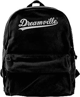 WUHONZS Canvas Backpack J. Cole Dreamville 4 Your Eyez ONLY Tour Rap Hip HOP Cole World Rucksack Gym Hiking Laptop Shoulder Bag Daypack for Men Women