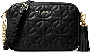 Michael Kors Quilted Floral Camera Bag
