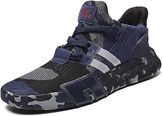 Ezkrwxn Men mesh Breathable Sport Running Tennis Athletic Walking Shoes