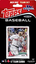 2014 Topps Boston Red Sox Factory Sealed Limited Edition 17 Card Team Set with Dustin Pedroia, David Ortiz Plus