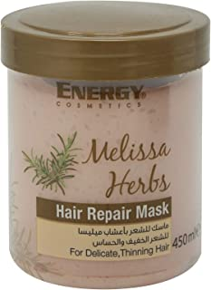 Energy Cosmetics Hair Repair Mask - Melissa Herbs - 450 ml