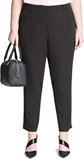 Calvin Klein womens Plus Size Soft Suiting Pant Pants