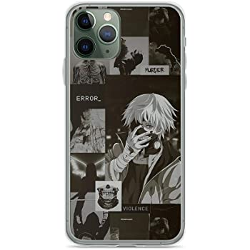 Amazon Com Compatible With Iphone 11 Pro Max Case Kaneki Ren Tokyo Ghoul Error Dark Aesthetic Collage Anime Fan Pure Clear Phone Cases Cover