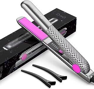 صاف کننده مو ، OrmQ 2 در 1 آهن مسطح صاف می شود