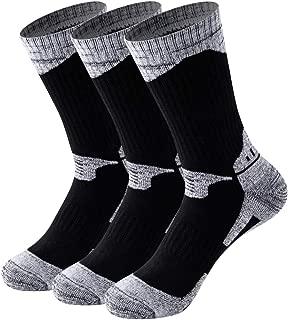 1 OR 3 Pairs Wicking Cushion Outdoor Hiking Walking Athletic Socks