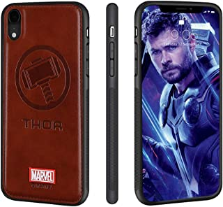 Marvel iPhone Xs MAX Case,Leather Cases Compatible with iPhone Xs MAX,Marvel Avengers Endgame (Thor)