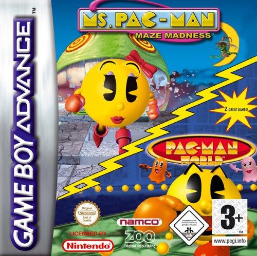 Ms Pacman/Pacman World Compilation (Game Boy Advance) [Edizione: Regno Unito]