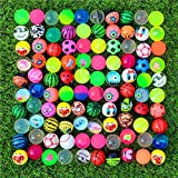 Febbya Balles Rebondissantes,30 Pièces Bouncy Balls Assortiment Coloré 30mm Haut Bouncing Balls Parti Sac Remplisseur pour Enfants
