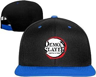 ZGCC Demon Slayer Baseball Caps Unisex Adjustable Contrast Dad Hat Plain Cotton Adult Classic Cap