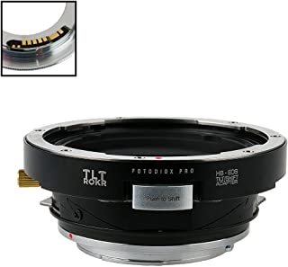 Fotodiox Pro TLT ROKR - Tilt/Shift Lens Mount Adapter Compatible with for Hasselblad V-Mount SLR Lenses to Canon EOS (EF, ...